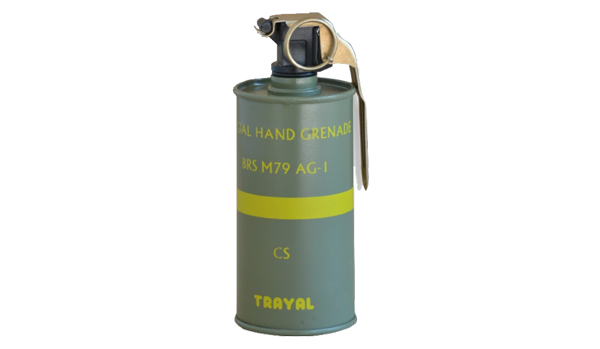 Special hand thrown grenade M79 AG-1