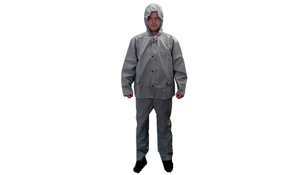 Overalls for protection against rain
