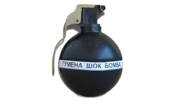 Hand thrown shock granade M5