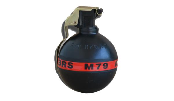Special hand thrown grenade M79 AF-1S