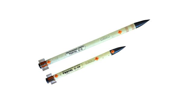 Anti-hail rockets D-6 B and D-8