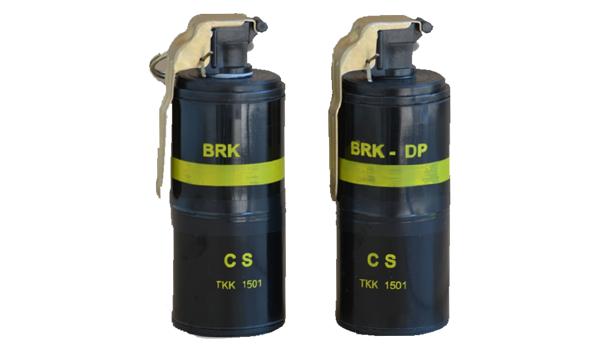 Cluster (cassette) hand grenade CS