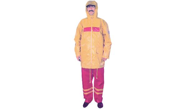 Oil resistant clothes