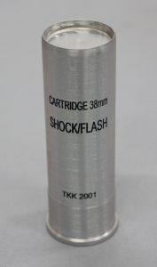 Metak 38 mm šok/fleš